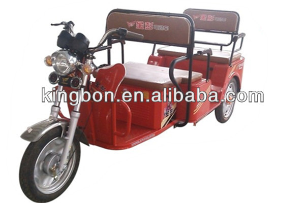 Hot sale 1000W three-wheel passenger electric tricycle