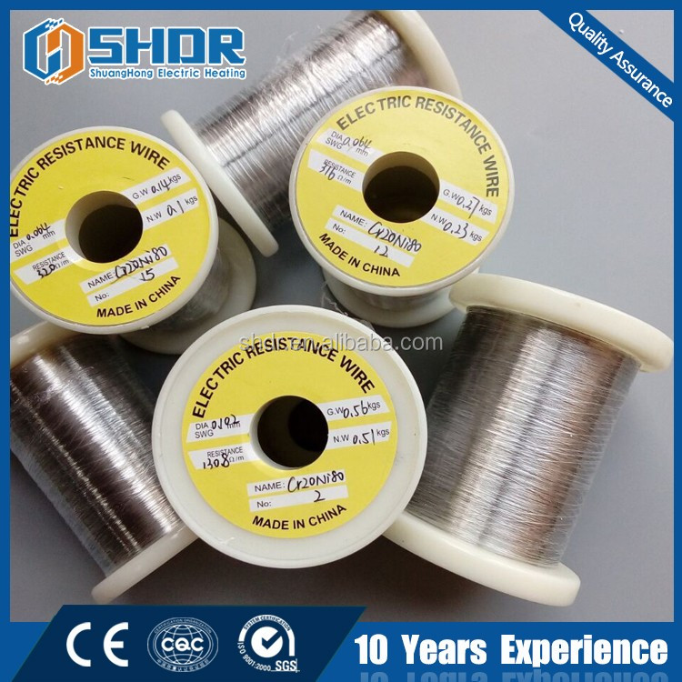 yancheng shuanghong FeCrAl electrical heating resistance 0Cr23AL5 nichrome wire