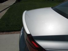 CUSTOM PAINTED / PRIMED / UNPAINTED REAR TRUNK BOOT LIP SPOILER WING FOR MERCEDES BENZ MODELS