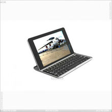Bluetooth Keyboard with Aluminum Protector Case For SAMSUNG Galaxy Tab Plus P-SAMP6200BTHKB001