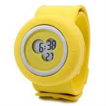 slap band silicon watch for kids 2012 new