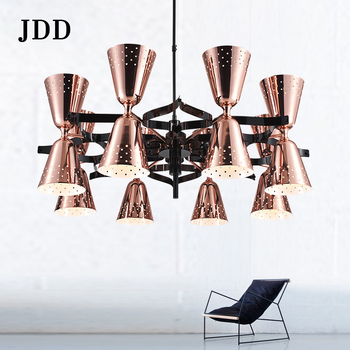 Post modern simplicity iron+steel pendant lamp