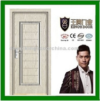Wood laminated pvc door for office rooms