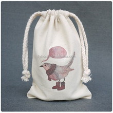 Holiday fabric cosmetic gift bag for promotion