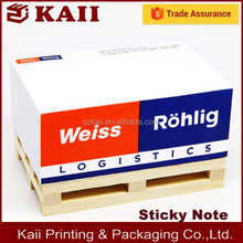 promotion advertising paper block ,wooden pallets cube memo in China