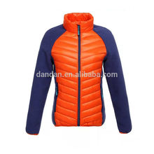 Wholesale contrast colors polar fleece women wear winter jacket
