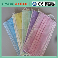 Disposable face mask single use medical face masks for allergies
