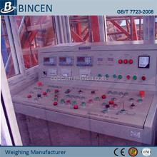 Weighing Batch controlling apparatus