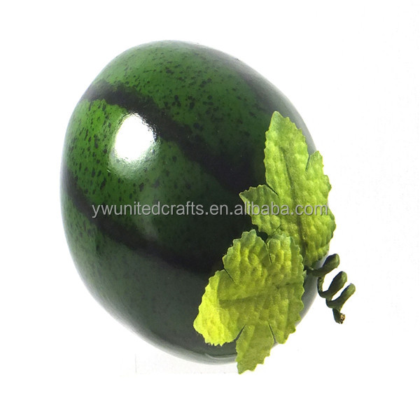 2016 China supplier realistic decorative artificial simulation foam watermelon