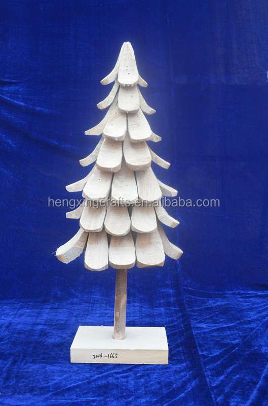 Wooden Artificial Christmas Tree