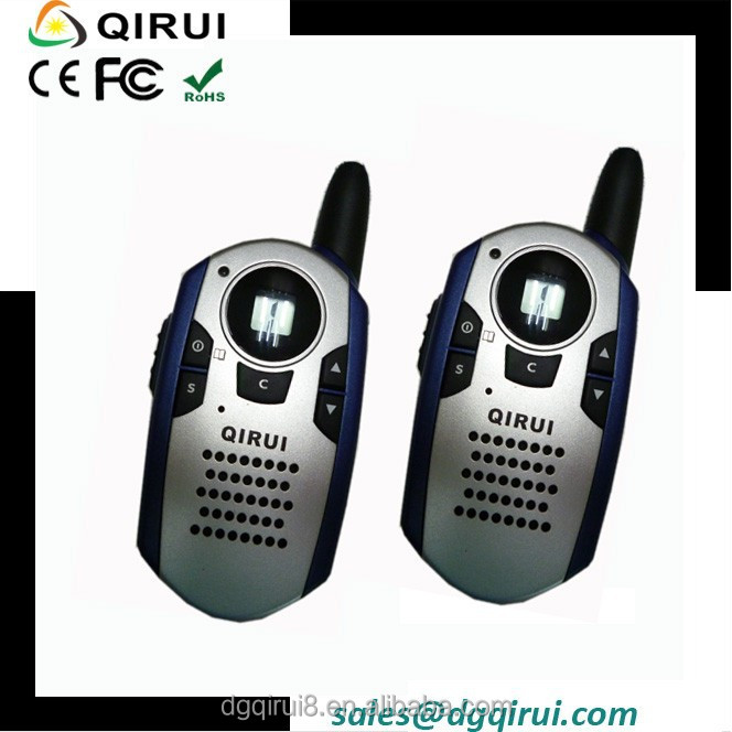 2 Way talk back Walkie Talkie with PPT button