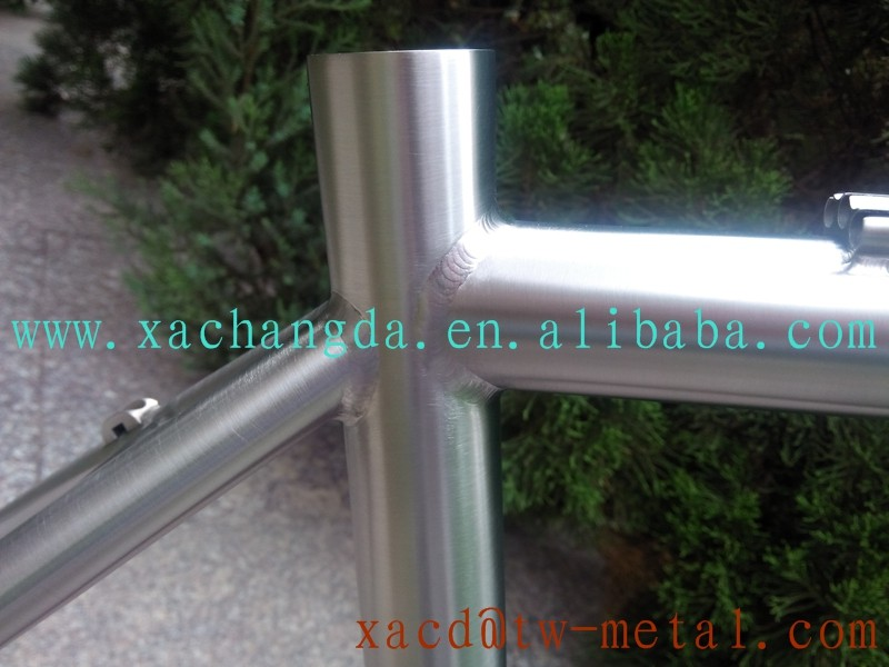 customized Titanium MTB bike frame 29 er Ti bike frame made in china