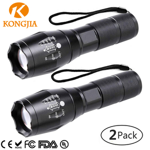 NHKJ Rechargeable Led Flashlight Aluminum Alloy Torch High Power Tactical Led Flashlight