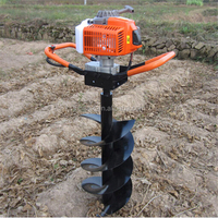 New Design 2 Stroke Gasoline Planting Hole Digger/Ground Drill/Tree Planting Digging Machine