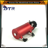 Free Shipping 0.5L / 500ml Racing Car Universal Breather Oil Tank & Oil Catch Can Fuel Tank With Breather Filter YC