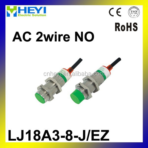 M18 Two Wire AC NO 1-10mm distance measuring proximity switch sensor -LJ18A3-8-J/EZ