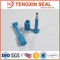 Disposable tamper proof bolt seal for container shiping