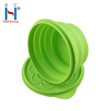 Wholesale Full Food Grade Silicone Folding Bowl And Microwave Safe Silicone Bowl