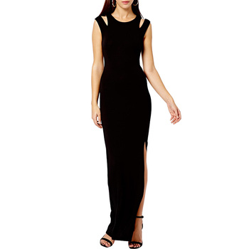 Mermaid black long Evening Dress
