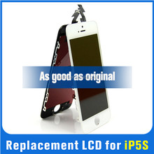 Cheap cell phone parts 100% original lcd for iphone 5s