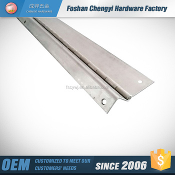 foshan lowest factory price stainless steel 201 piano hinge