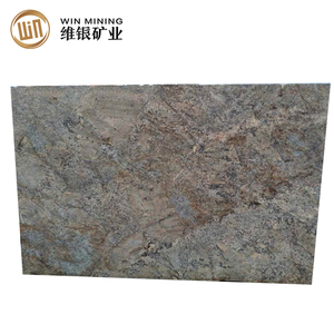 Wholesale cheap various types standard Fantom Golden granite slab size 3m*2m*2cm
