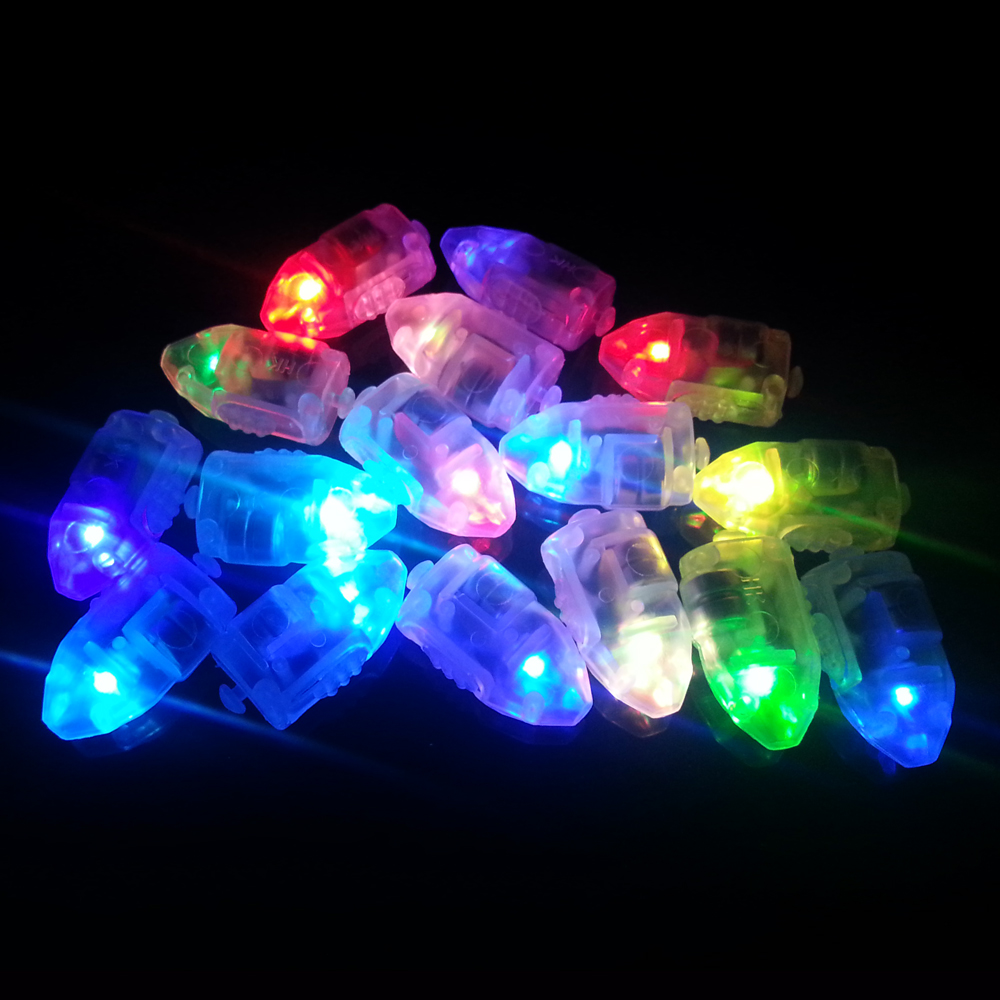 flashing led balloon light novelty party favors