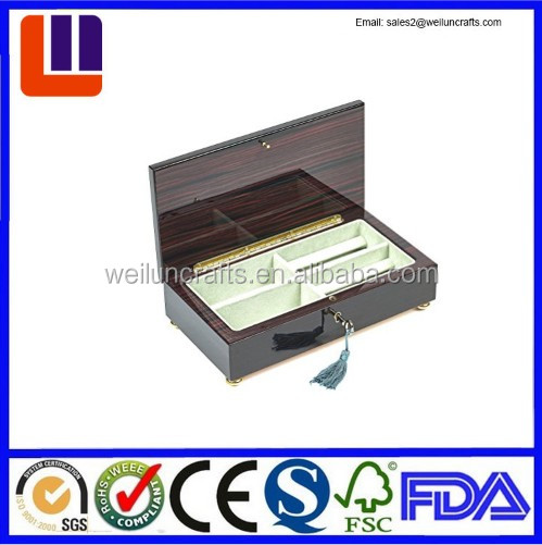 Factory wholesale art supply wood handmade craft Man Storage Valet box