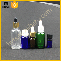 5ml 10ml 15ml 20ml 30ml 60ml Wholesale Essential Oil Child Proof Amber Cosmetic Serum Glass Dropper Bottle For Essential Oil