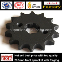 China manufacturer motorcycle spare parts driven racing sprockets for CBX250 TWISTER /TITAN/CG-125/NXR125BROS
