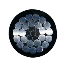 JKLGYJ steel rerinforced aluminum conductor PE insulated aerial cable