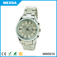 Stainless steel back 1 atm water resistant quartz watch,japan miyota watch