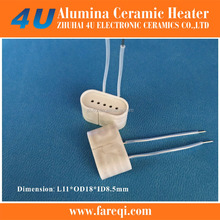 ceramic heater part for dry herb