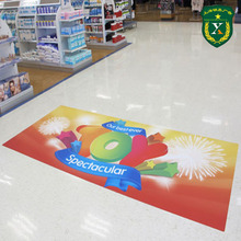 Eco-friendly non-taxic vinyl floor stickers with customized size