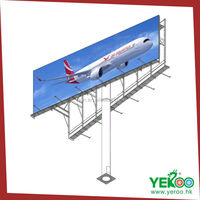 outdoor billboard advertising equipment used billboard outdoor advertising display stand billboard construction