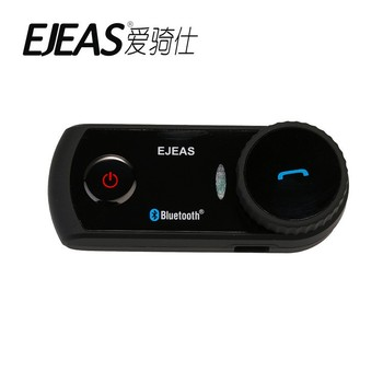 EJEAS E2 1200m 4 riders connect 2 riders full duplex talking bluetooth interccom wireless headphone with GPS navigation