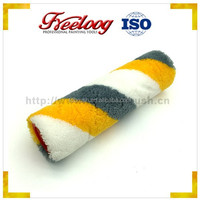 Good Price Textured Rubber Plastic Handle Colorful Paint Roller With Pattern