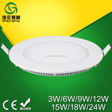 Ultra-slim profile beautiful led panel light aluminum frame of commercial lighting