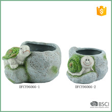 New Design Ceramic Succulent Animal Shape Garden Planter