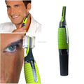 Face Care Stainless Steel Nose Hair Trimmer Removal Clipper Shaver With LED Light