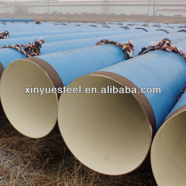 FBE Coated Steel Pipe /API 5L steel pipes oil pipe and gas equipment