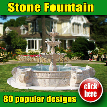 Hot Sale Stone Fountain Garden With High Quality