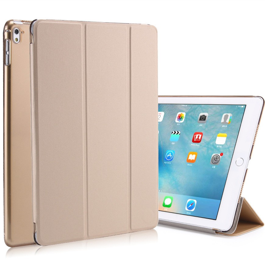 Factory direct sale leather tablet case For iPad Pro 9.7 inch leather stand case