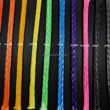 3-16mm Diameter UHMWPE/ Dyneema ATV/UTV winch basic sythtic Rope OEM color