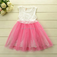 White And Green Lace Dresses Cute kids frocks designs wholesale kids tutu dress GD40402-2