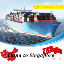 Sea shipping ocean freight service from Shanghai to Singapore Asia