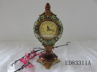 Resin clock for gift decoration