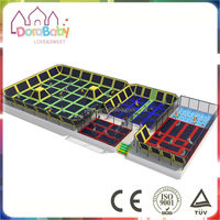 Summer Top Sell Kids Outdoor Trampoline Park with Tent, Trampoline Park