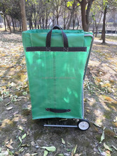 Pe pop up Garden Bag con anello in acciaio