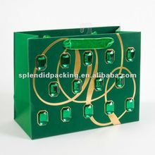 Emerald Gems Medium Gift Bag
